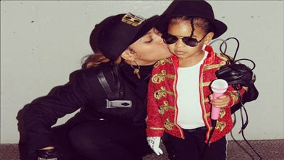 Beyoncé and Blue Ivy Dress Up As Michael and Janet Jackson for Halloween