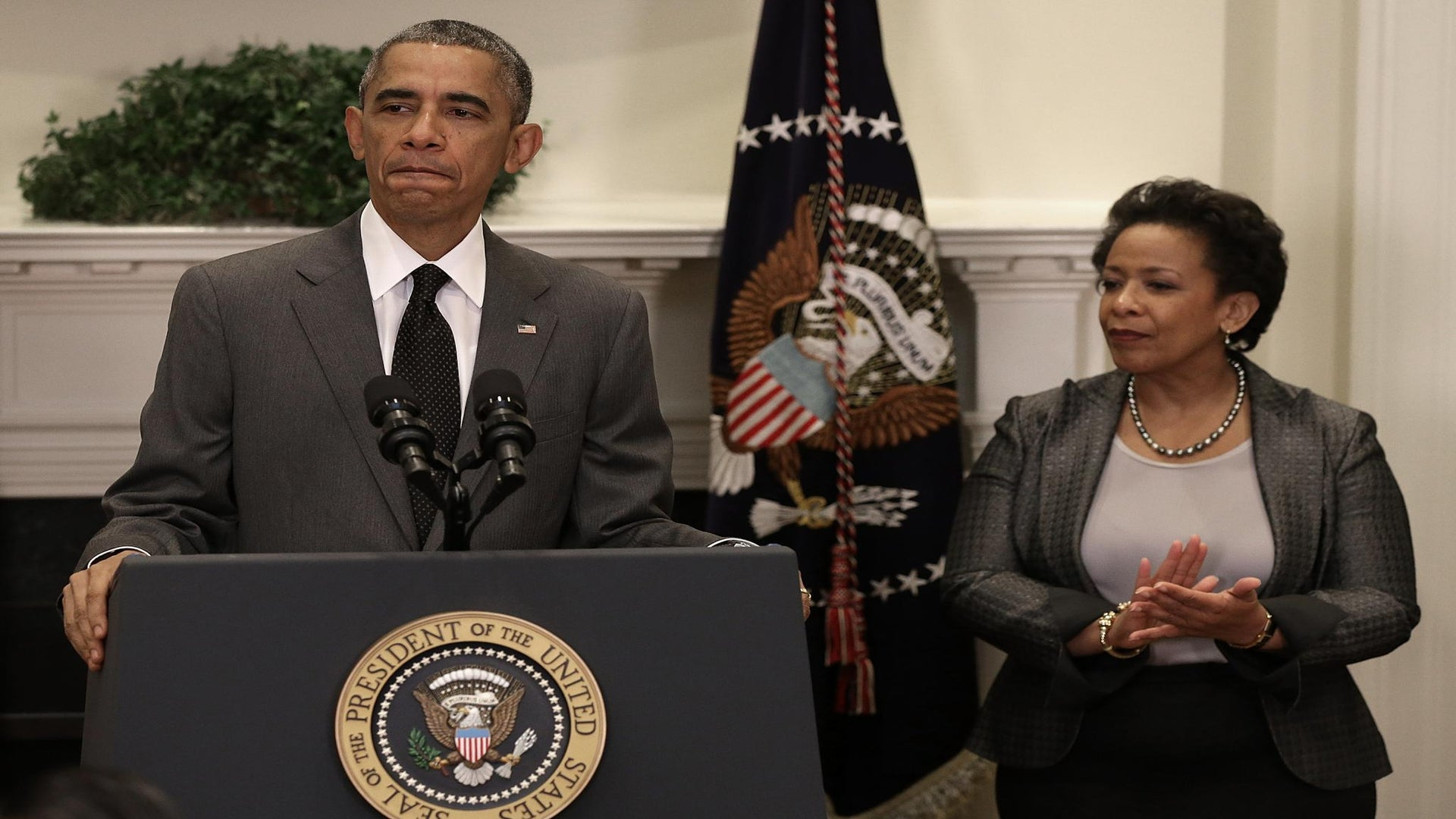 Confirmation Hearings Begin for Attorney General Nominee Loretta Lynch