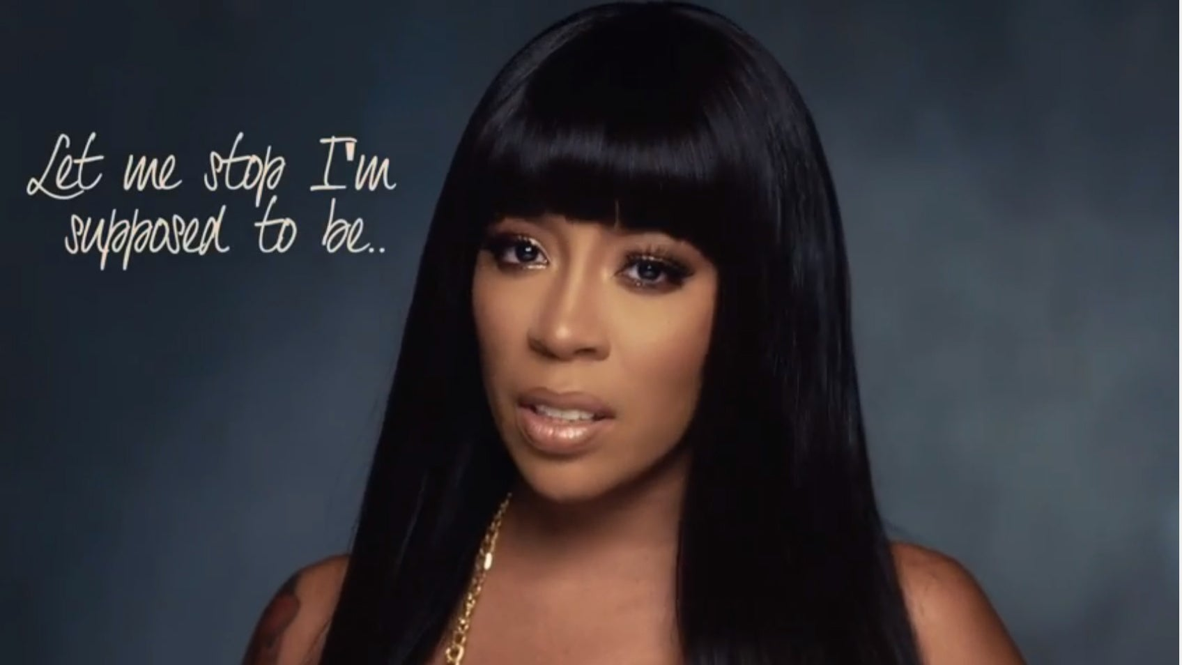 Exclusive: K. Michelle Debuts New Lyric Video for 'Maybe I Should Call'