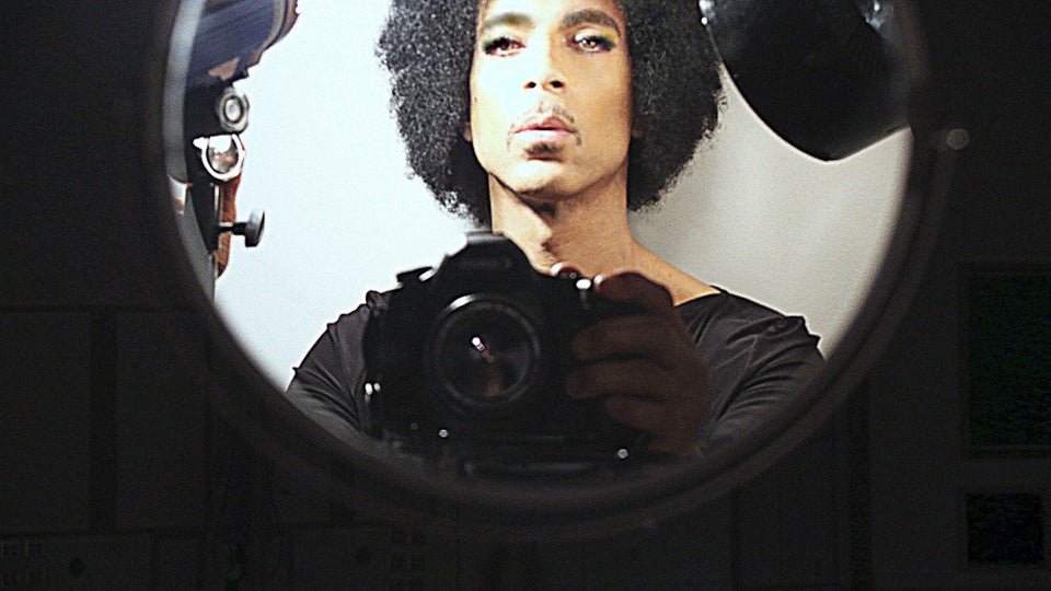Coffee Talk: Prince Takes His First Selfie