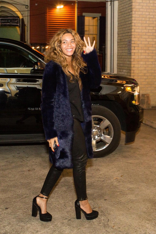 Beyoncé Spotted in NOLA Celebrating Solange's Pre-Wedding Festivities