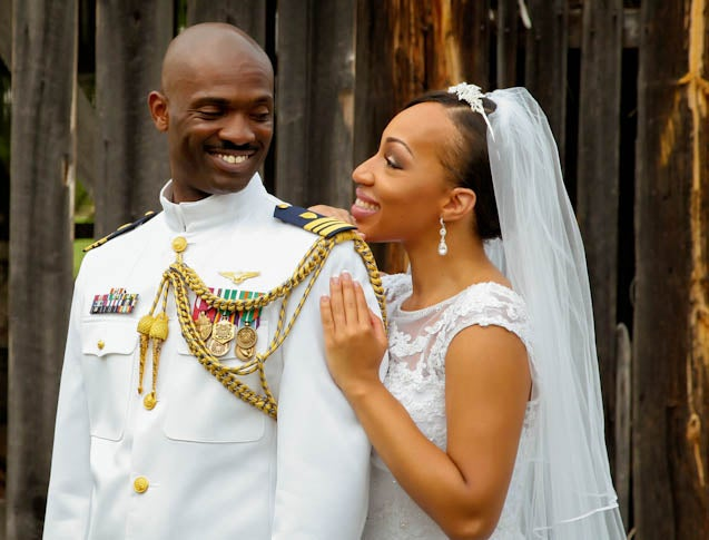 Bridal Bliss: Angelisse and Marcus' Military Wedding