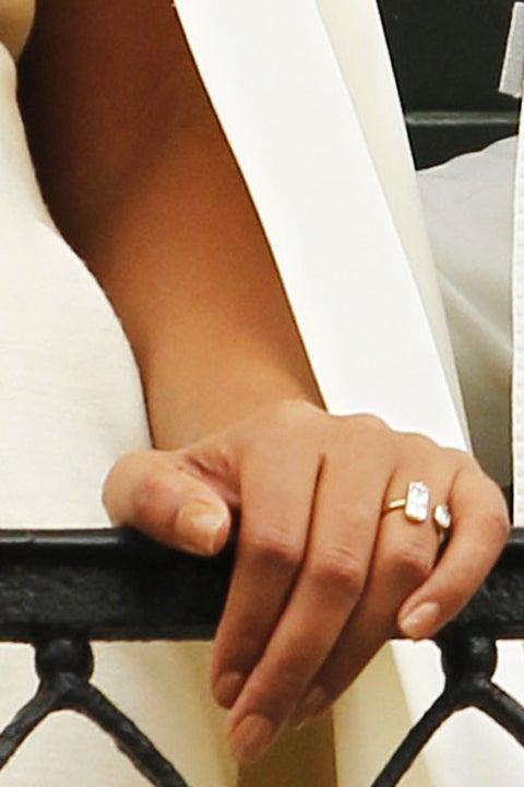 Solange's Engagement Ring Close-Up!