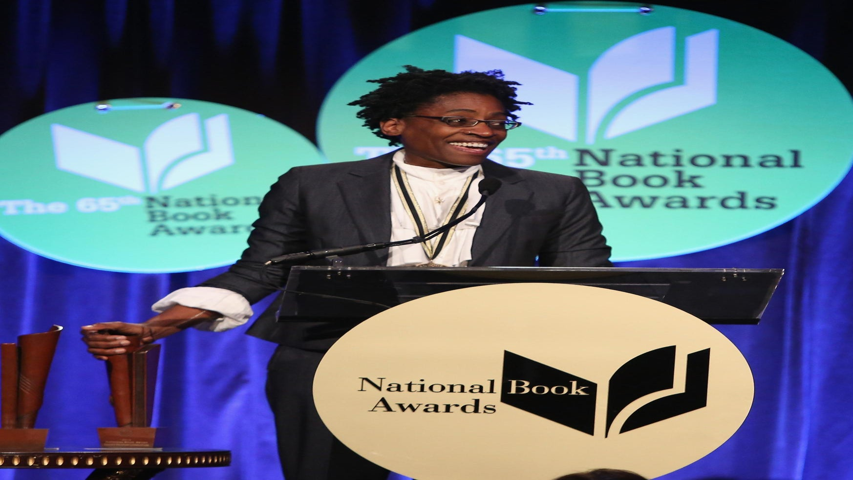 Children's Book Author Jacqueline Woodson Wins National Book Award