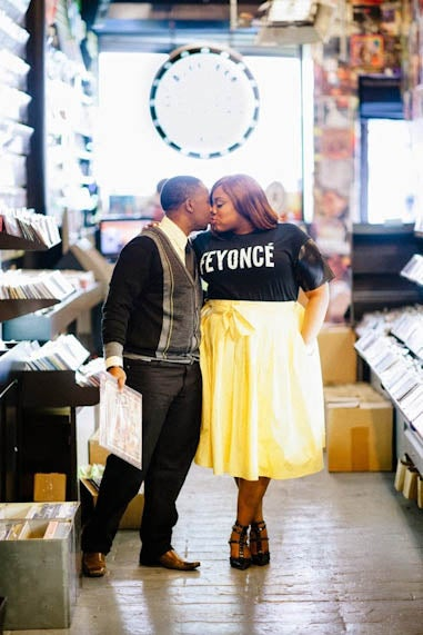 Just Engaged: Crystal and Winston's Love Story