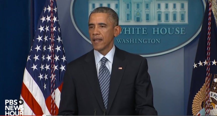 President Obama Speaks to the Nation After Ferguson Grand Jury Decision