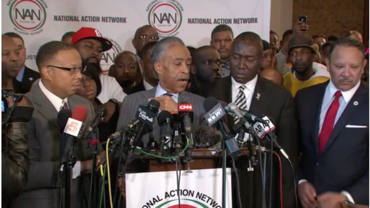 Rev. Al Sharpton, Brown Family Attorney Speak Out