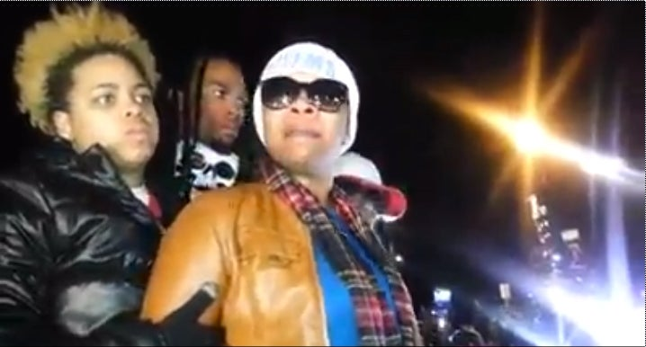 VIDEO: Michael Brown's Mother Reacts to Grand Jury Decision on Ferguson Streets