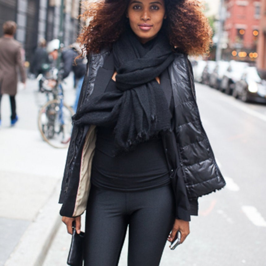 Accessories Street Style: Scarf Swag
