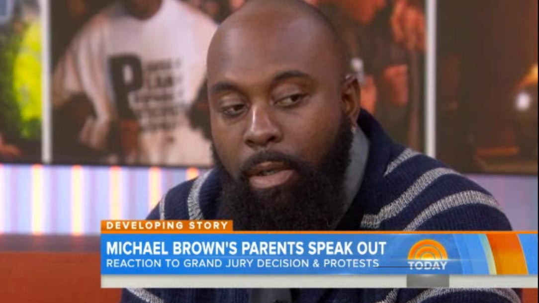 Michael Brown Sr.: 'Justice Hasn't Been Lost'