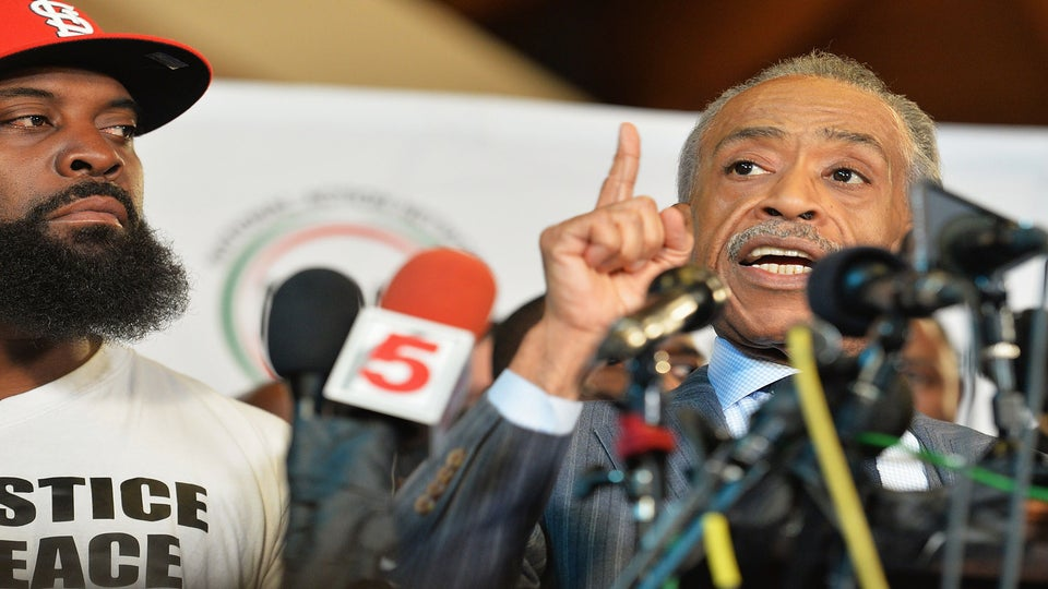 Rev. Al Sharpton, Eric Garner's Family Condemn Use of Violence Against Police Following Saturday's Shooting