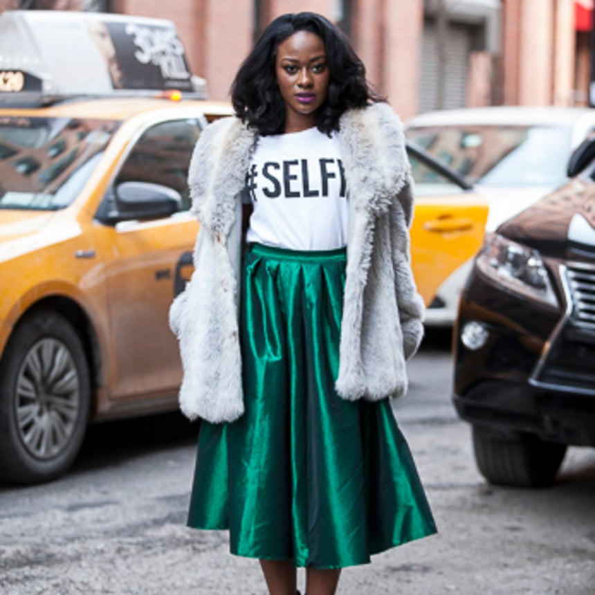 Street Style: Practical Party Looks for NYE