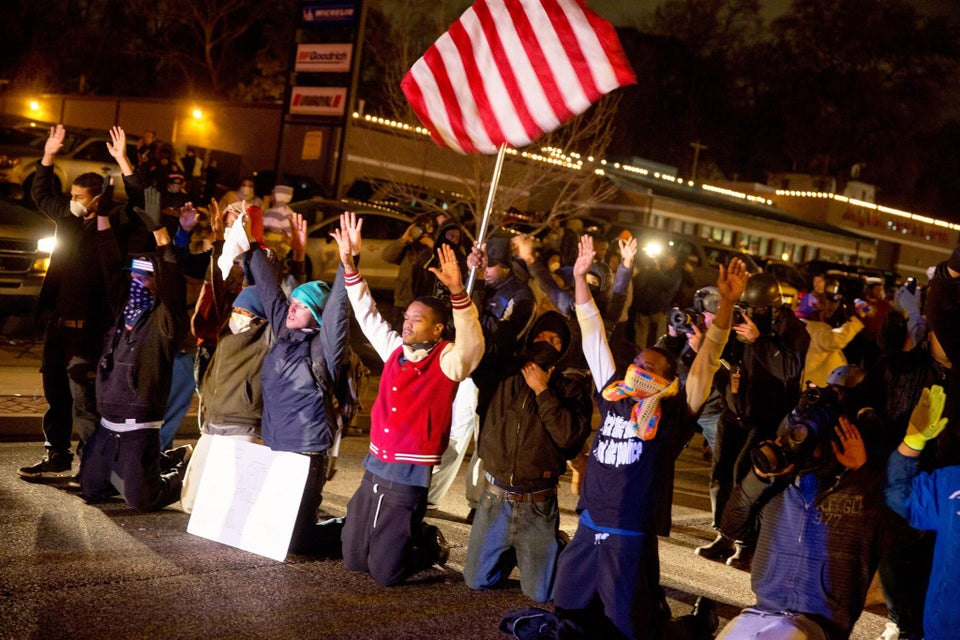 St. Louis Protesters Post Eviction Notice on Police Headquarters