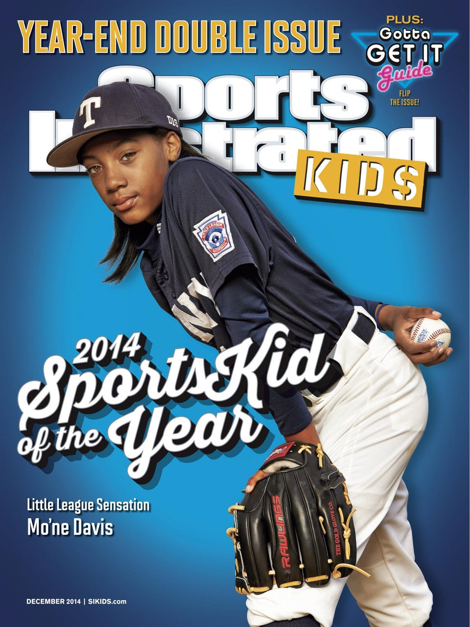 Mo'ne Davis Is 'Sports Illustrated Kids' SportsKid of the Year!