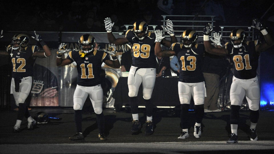 Rams Players Won't Be Fined By NFL After 'Hands Up Don't Shoot' Gesture