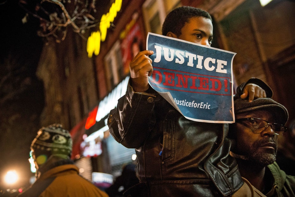 Eric Garner Supporters In New York Hand Out List Of Demands