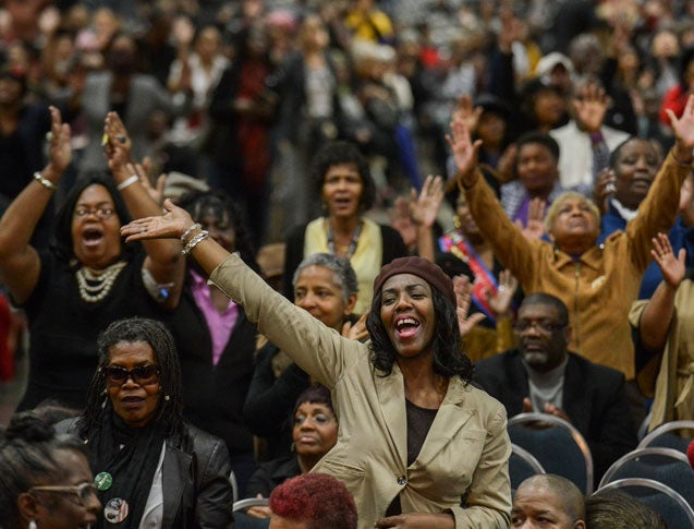 Marion Barry's Memorial Service Draws Thousands