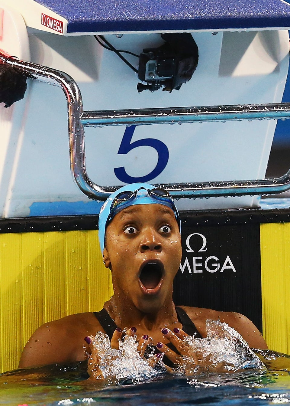 Jamaican Swimmer Alia Atkinson Becomes First Black Woman to Win World Swimming Title