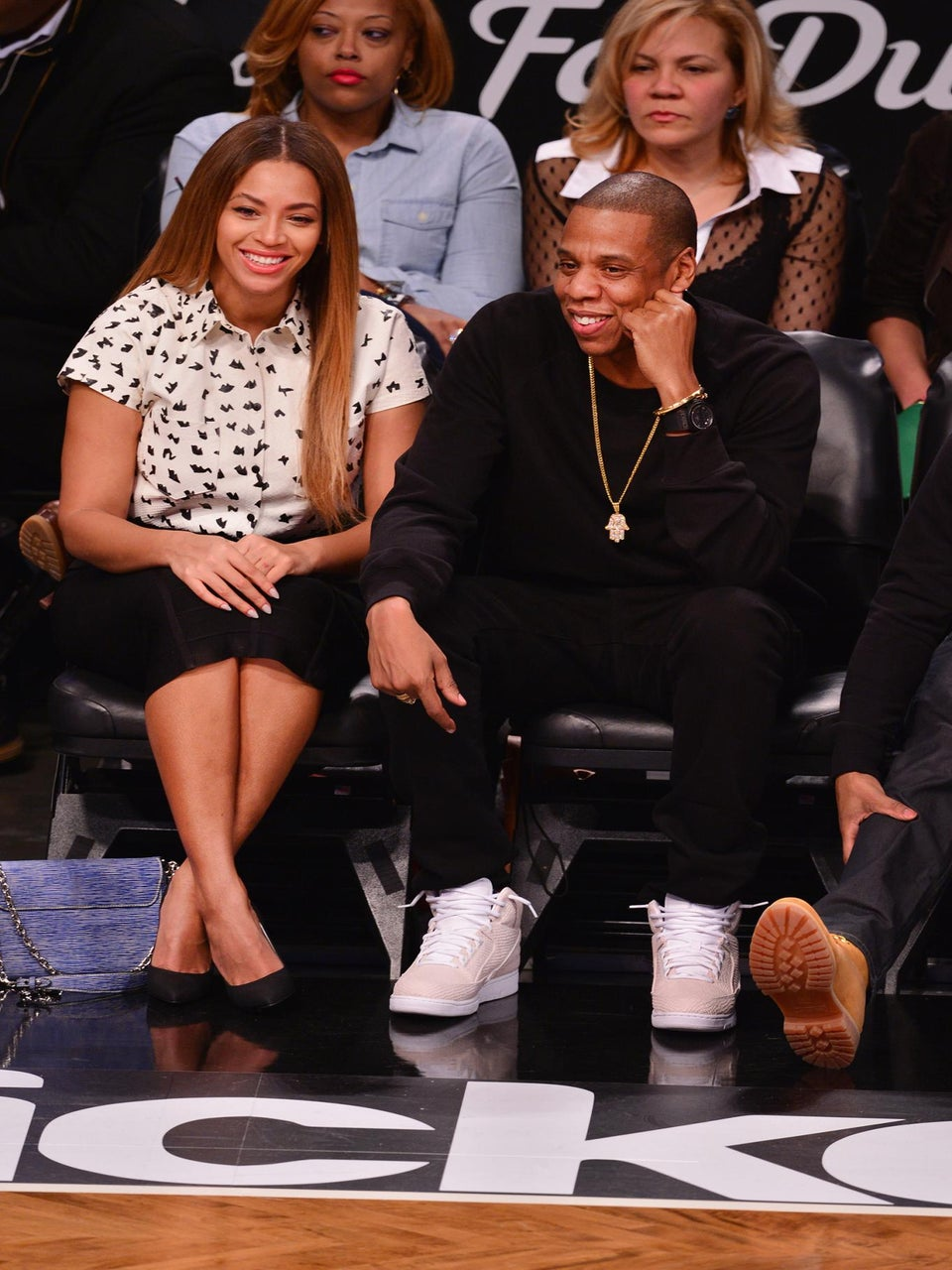 Coffee Talk: Beyoncé and Jay Z Meet Prince William and Duchess Kate