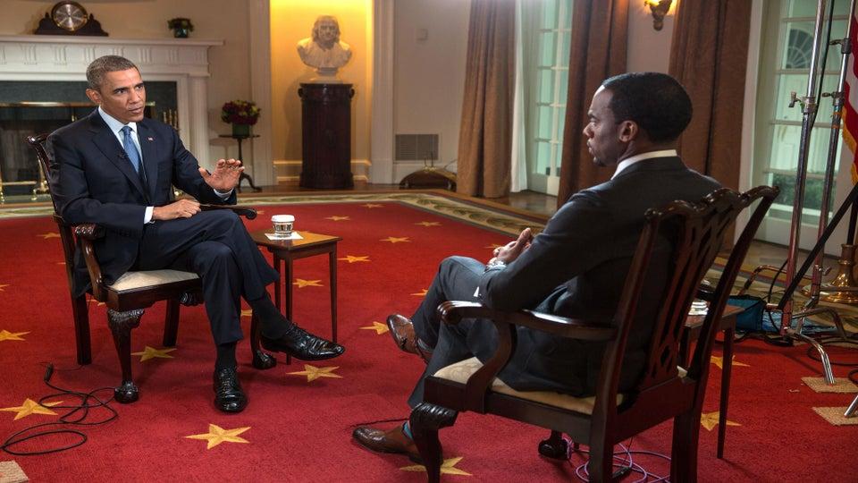 President Obama on Ferguson: 'This Isn't Going To Be Solved Overnight'