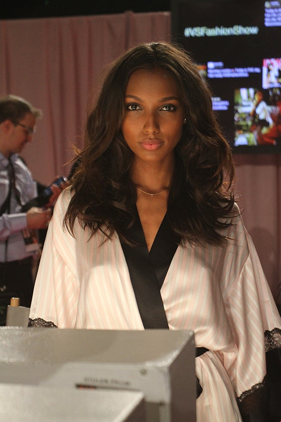 Backstage Hair at the Victoria's Secret Fashion Show