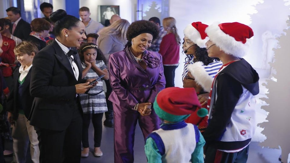 After the Show: 'Black-ish' Brings the Christmas Cheer