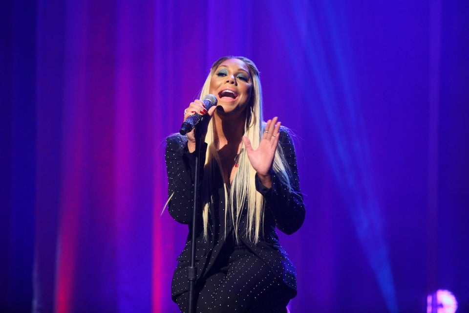 Must-See: Watch Tamar Braxton Perform 'Silent Night' on The Real