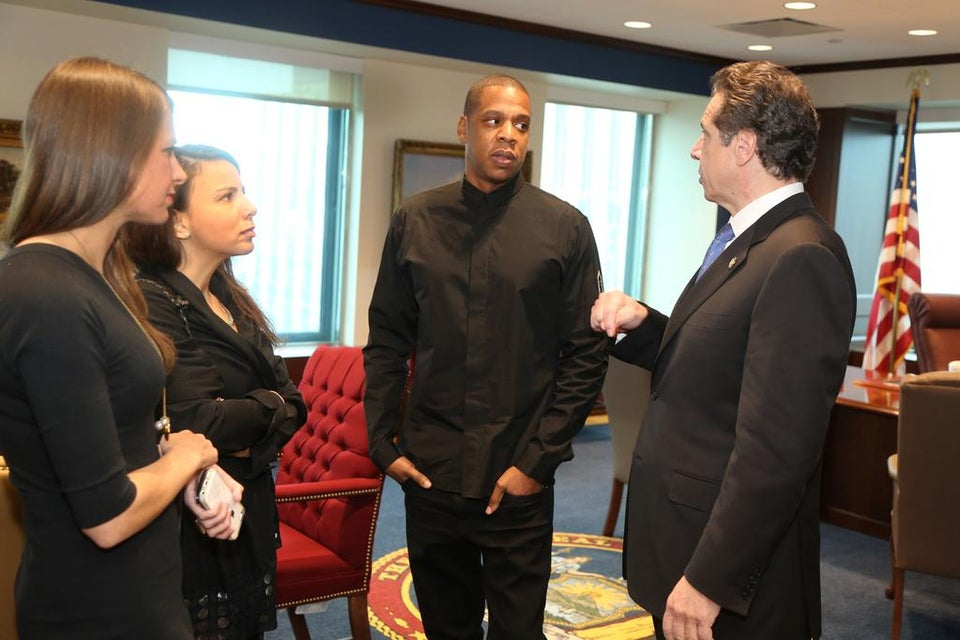 Coffee Talk: Jay Z and Russell Simmons Meet NY Governor To Discuss Criminal Justice Reform