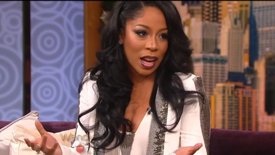 """K. Michelle Reveals Relationship with Idris Elba, Claims """"He Has His Ratchet Side"""""""