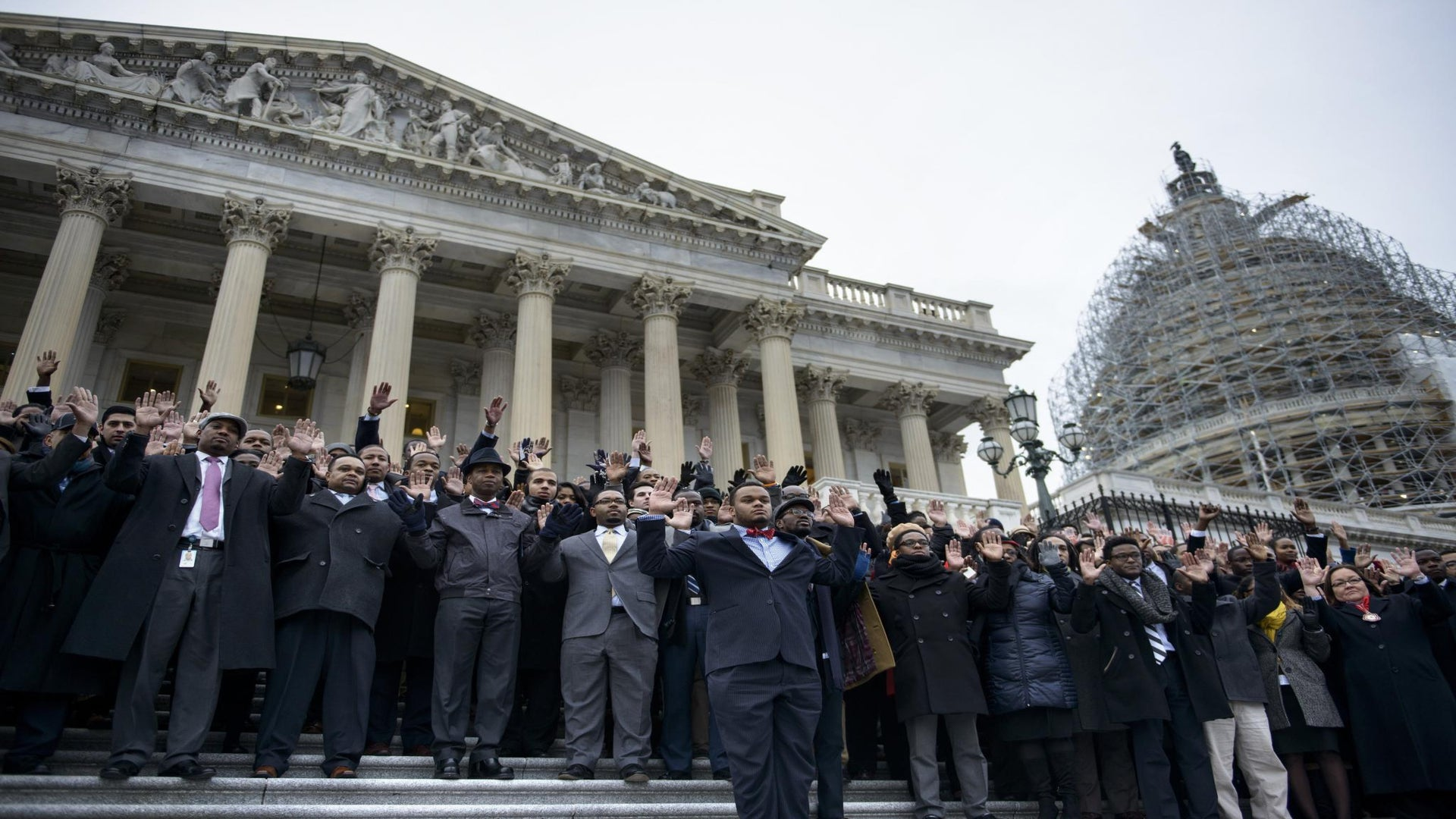 100 Congressional Staffers Staged a Walkout to Protest Grand Jury Decisions