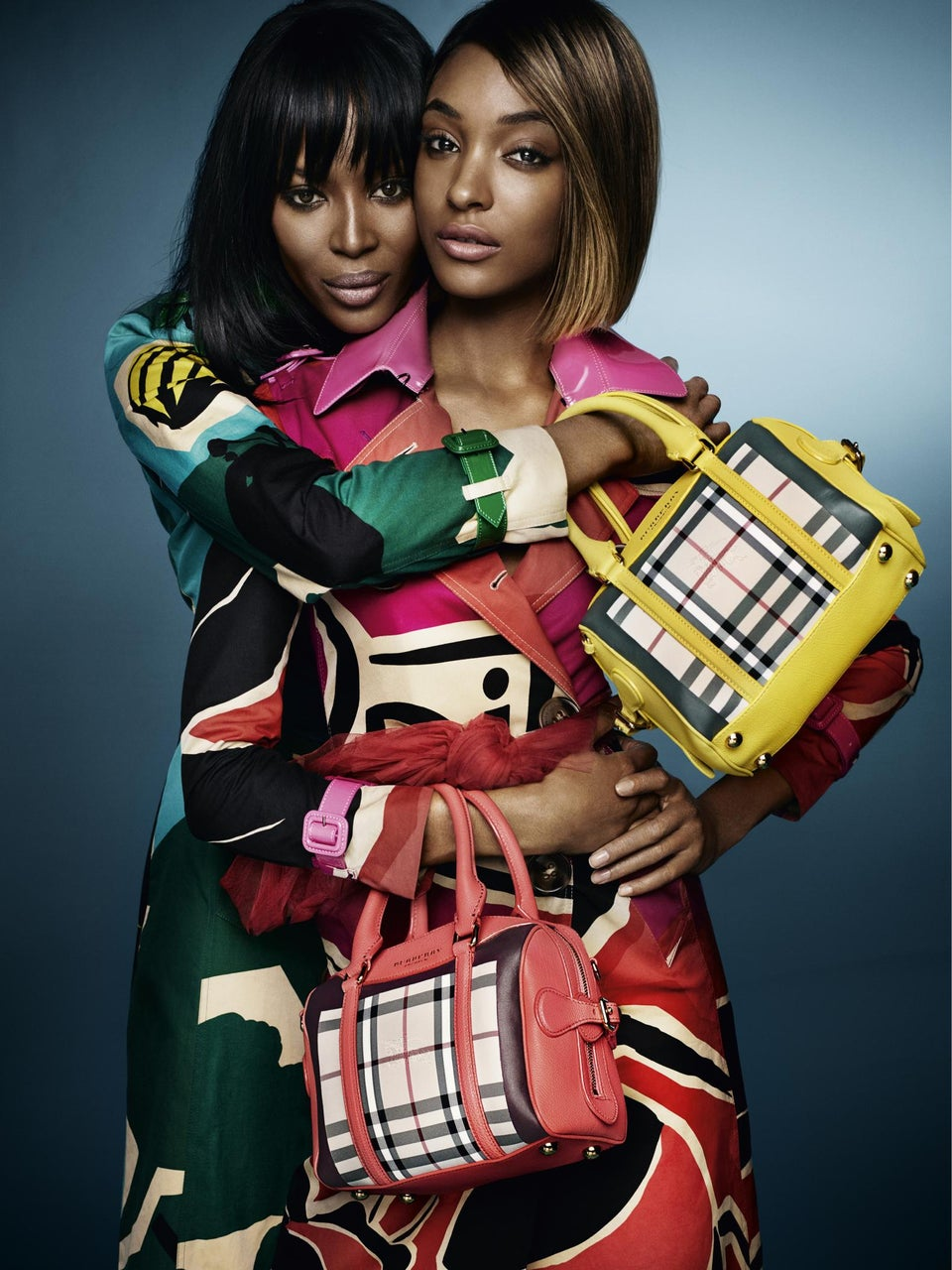 Get The Look: Naomi Campbell and Jourdan Dunn in The Burberry Spring '15 Campaign