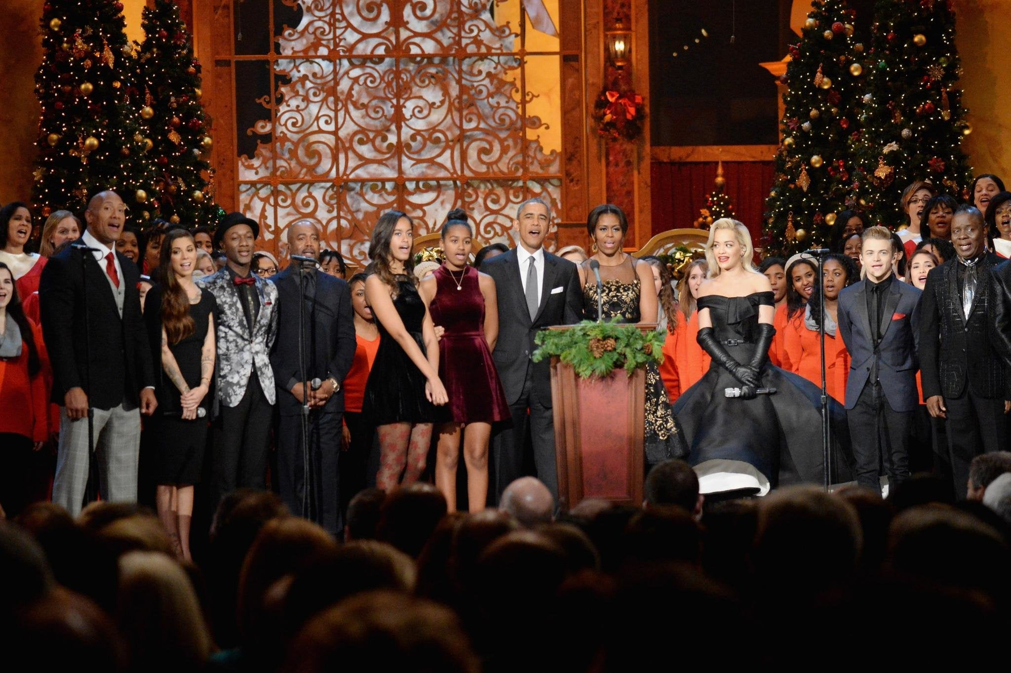 Earth, Wind & Fire, The Rock Spread Holiday Cheer at the Annual 'Christmas in Washington' Special