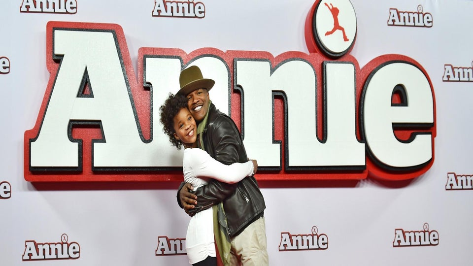 Quvenzhané Wallis Steals Her 'Annie' Co-Star Jamie Foxx's Heart in Our ESSENCE Cover Story