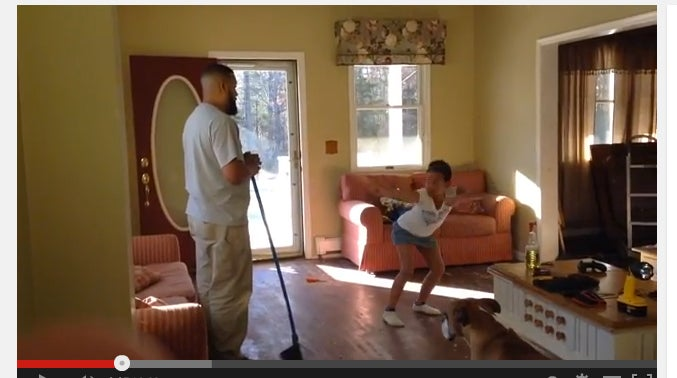 Must See: Daddy and Daughter Face Off in Adorable Dance Battle