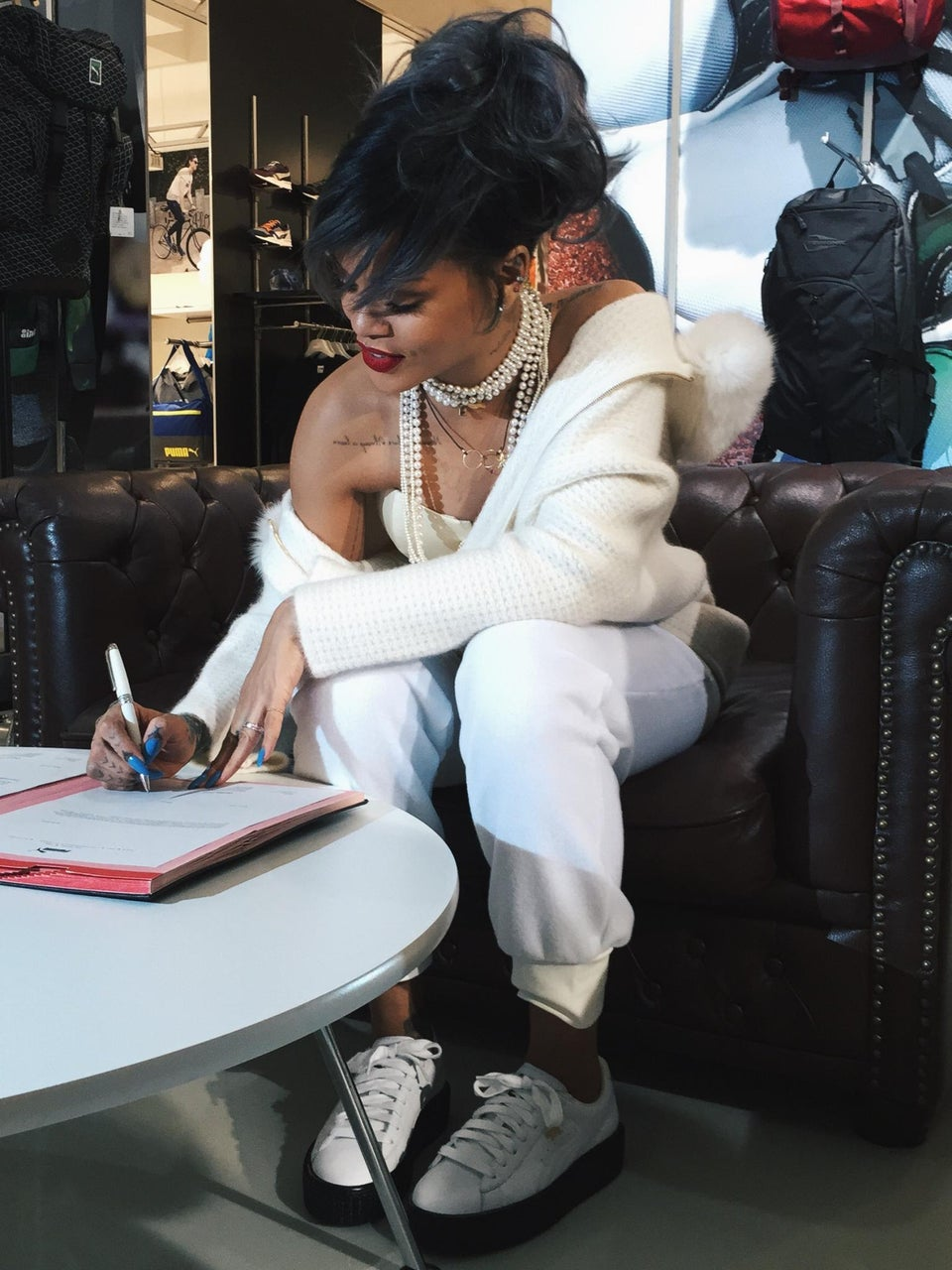 Rihanna Named Creative Director of Puma