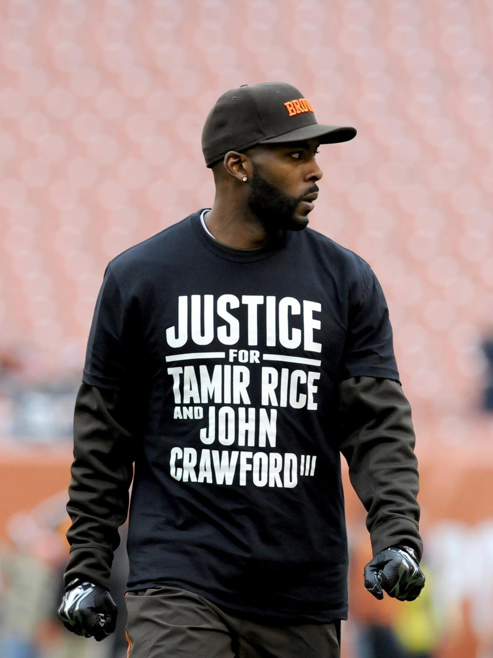 Watch Cleveland Browns' Andrew Hawkins' Perfect Response to Being Criticized for Wearing Tamir Rice Shirt