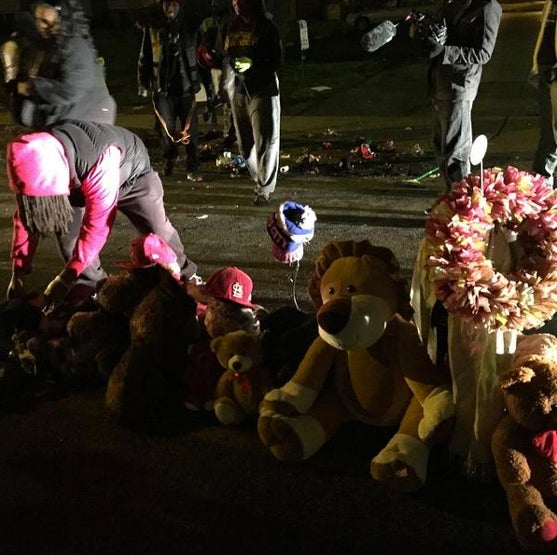 Ferguson Police Officer Placed on Unpaid Leave After Calling Michael Brown Memorial 'Trash'