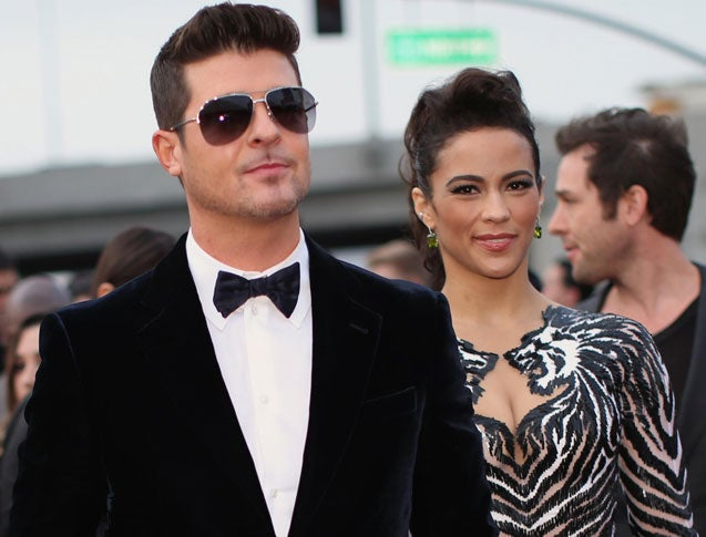 Robin Thicke Has Only Seen Son Once Since Judge Granted Paula Patton Temporary Sole Custody: Source