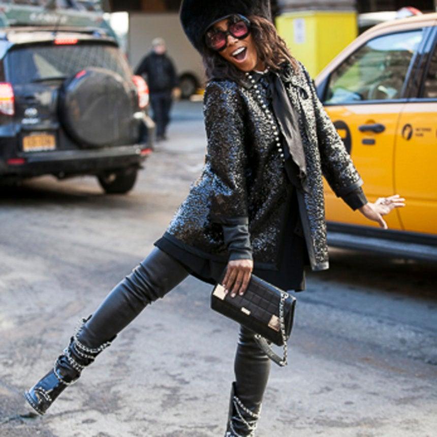 Street Style Crush: June Ambrose