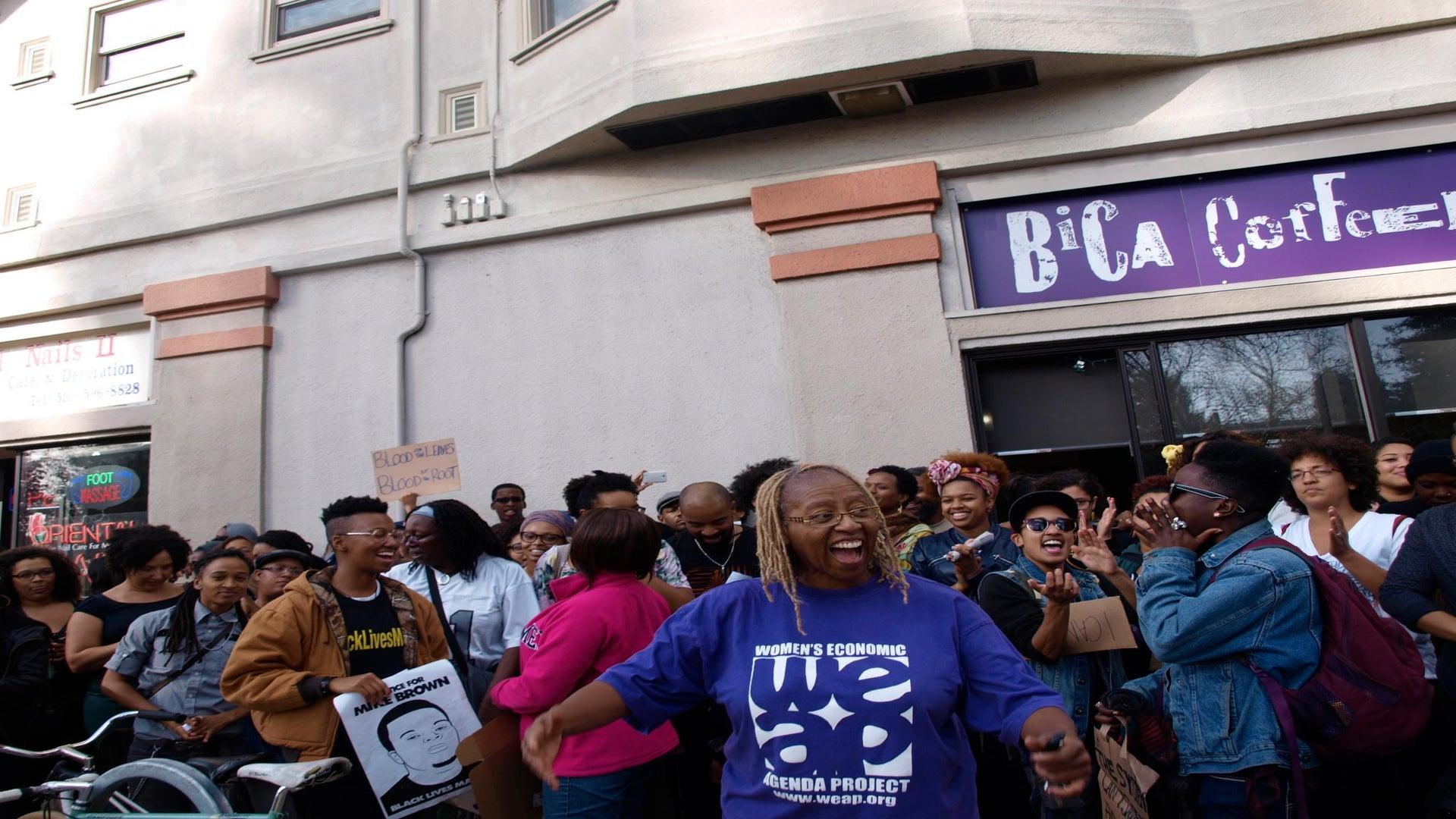 #BlackBrunch Protestors Demonstrate at 'White' Brunch Spots