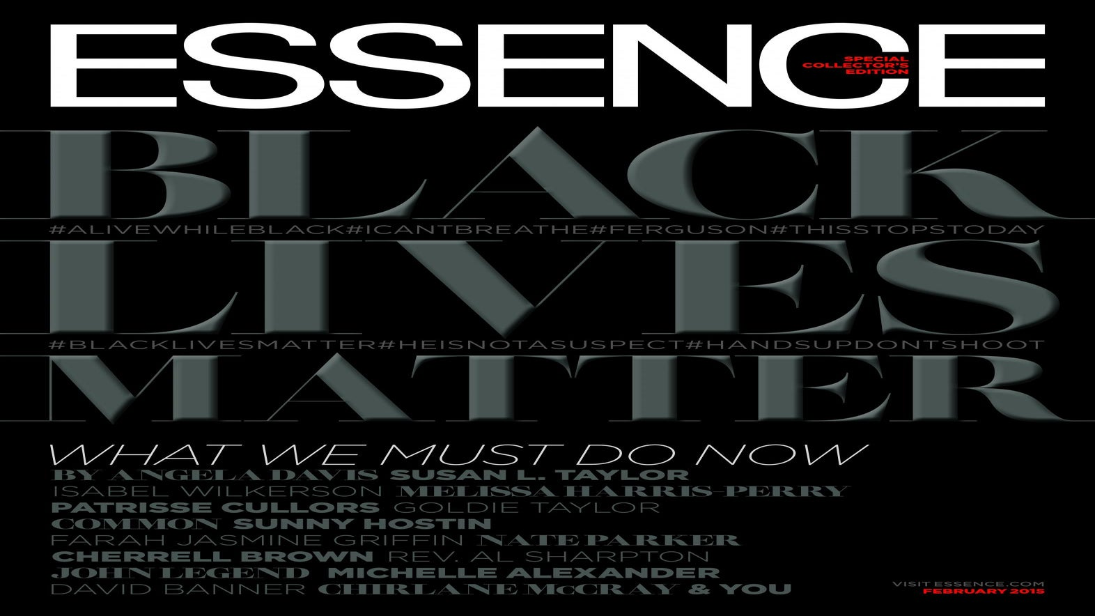 A Historic ESSENCE Cover and The Path Forward