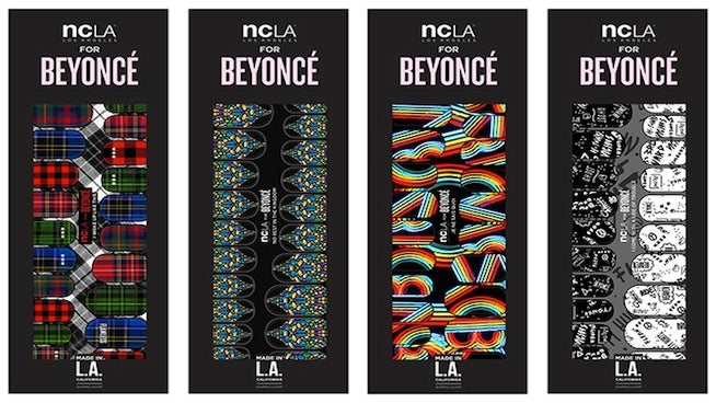 We Tried It: Beyonce's NCLA Nail Art Collection