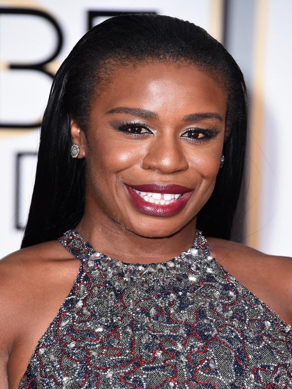 Get The Look: Uzo Aduba at The 2015 Golden Globes