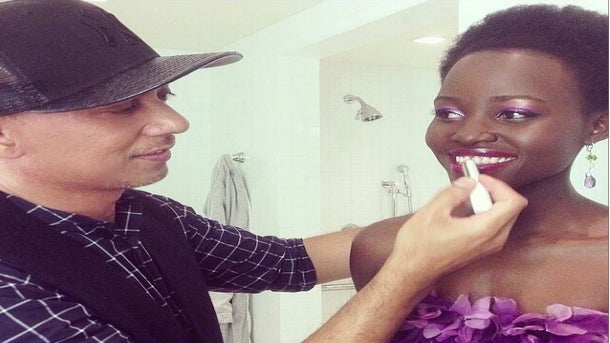 Get The Look: Lupita's Flawless Golden Globe Makeup and Nails