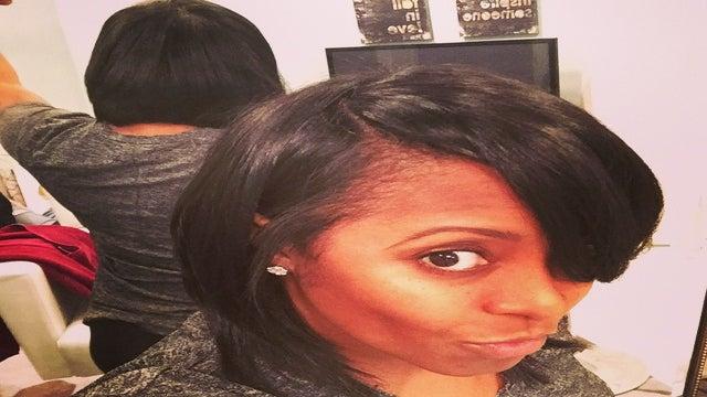 Keshia Knight-Pulliam Gets #FirstRealHairCut