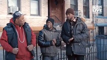 Kevin Hart Spoofs Brooklyn Life in 'SNL' Skit