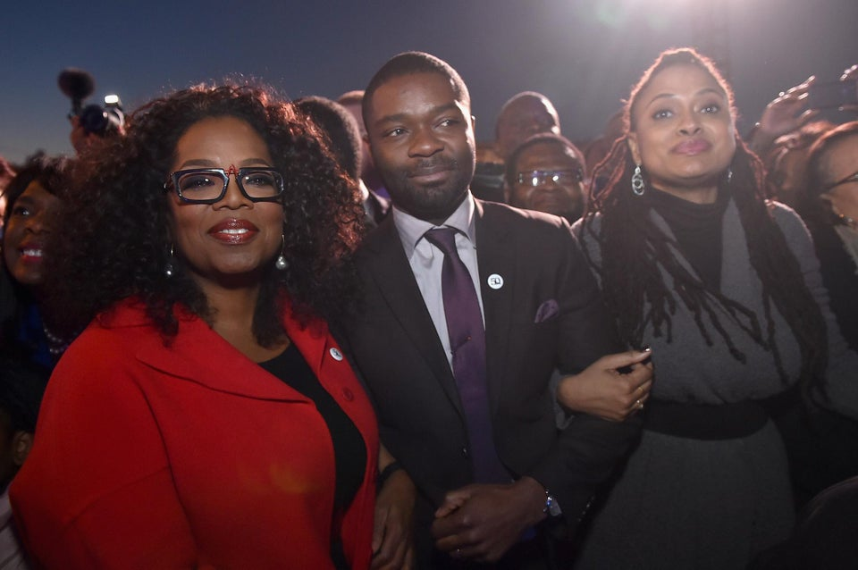 'Selma' Cast Marches Through Alabama for Martin Luther King Day