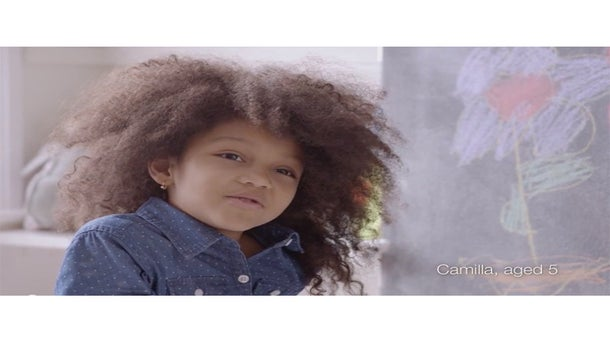 Dove Wants Girls to #LoveYourCurls