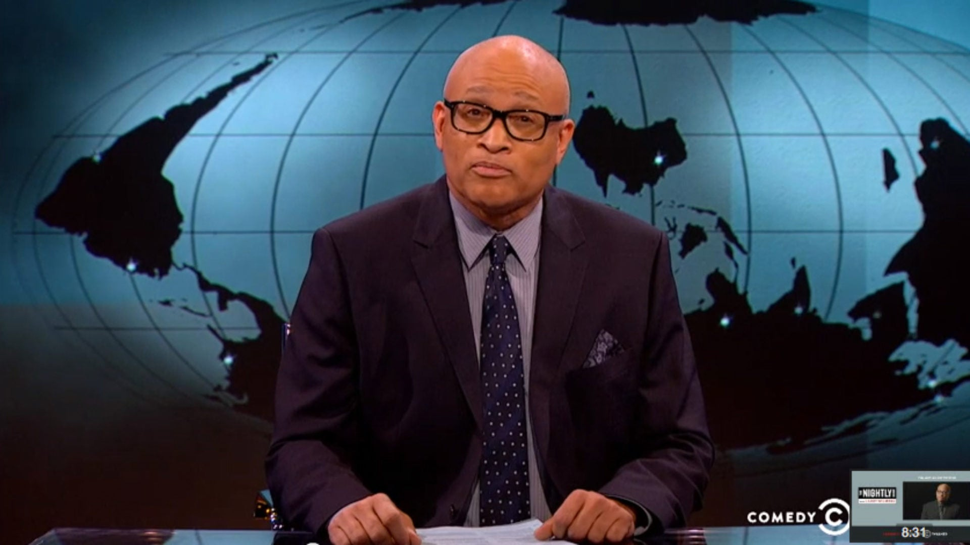 Say It Ain't So! Comedy Central Cancels 'The Nightly Show With Larry Wilmore'