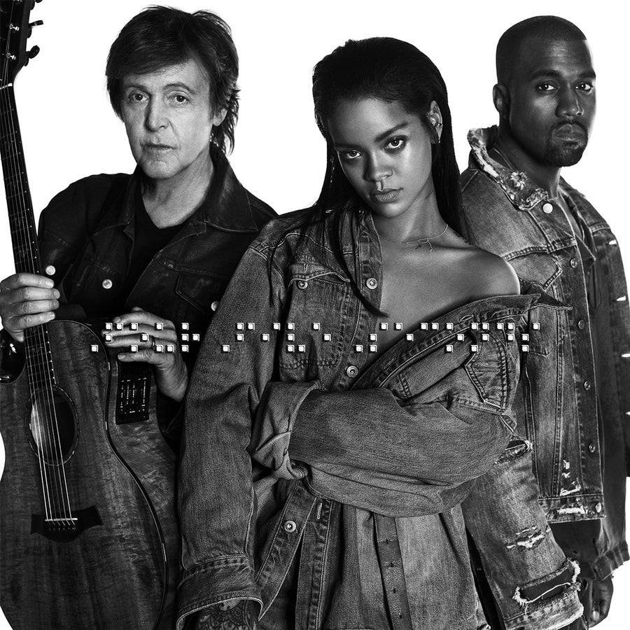 Rihanna Releases 'FourFiveSeconds,' A Collaboration With Kanye and Paul McCartney